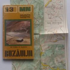 Colectia Muntii Nostri -  Muntii Buzaului (cu harta)