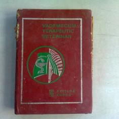 VADEMECUM TERAPEUTIC VETERINAR - E LICPERTA SI ALTII