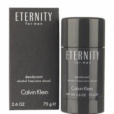 Deodorant stick Calvin Klein Eternity For Men, 75 ml, Pentru Barbati