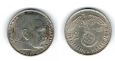 Germania 1938 - 2 Mark B, Ag foto