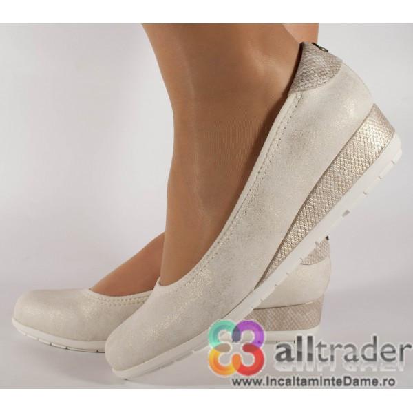 Pantofi S.Oliver office crem 22302