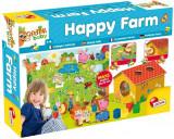 Puzzle de podea - Ferma cu surprize (12 piese) PlayLearn Toys