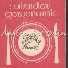 Calendar Gastronomic 1985