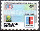 UNGARIA 1988, Congres, serie neuzata, MNH