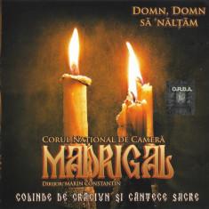 CD Corul Național De Cameră Madrigal – Colinde De Crăciun Și Cântări Sacre