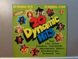 20 Dynamic Hits – Selectiuni (1973/K-Tel/RFG) - Vinil/Vinyl/Impecabil (NM), Columbia