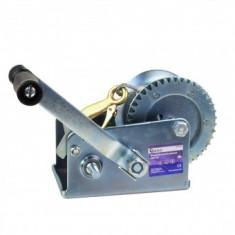 Troliu manual cu cablu Geko G01082, 1200 kg, lungime 10 m