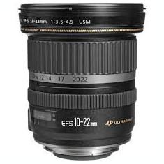 Obiectiv aparat foto Canon EF-S 10-22mm f/3.5-4.5 USM