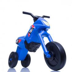 Tricicleta fara pedale Enduro Maxi albastru-negru