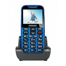 Resigilat: Telefon pentru vârstnici Evolveo EasyPhone XD, EP600, Albastru
