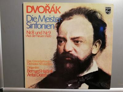 Dvorak – Symph no 8 & 9 – 2 LP Set (1980/Philips/RFG) - Vinil/Vinyl/ca Nou (M-) foto