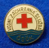 Insigna Donator Onorific - CRUCEA ROSIE Medicina Sanitare Donator de sange #25