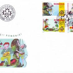 2005 Romania, FDC Cercetasii Romaniei LP 1686, plic prima zi