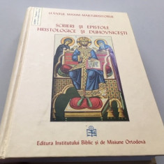 SF MAXIM MARTURISITORUL, SCRIERI SI EPISTOLE HRISTOLOGICE SI DUHOVNICESTI