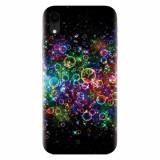 Husa silicon pentru Apple Iphone XR, Rainbow Colored Soap Bubbles