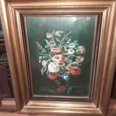 Tablou ulei pe panza - Flori, Realism