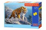 Cumpara ieftin Puzzle Tigru pe Piatra, 180 piese