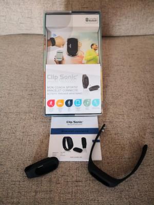 Bratara fitness Clip Sonic TEC578, culoare negru, Bluetooth - NOU foto