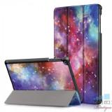 Husa Samsung Galaxy Tab A 10,1 2019 Flip Cu Stand Colorata