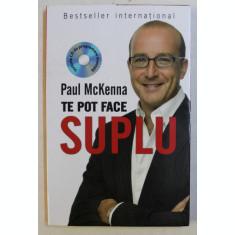 TE POT FACE SUPLU de PAUL MCKENNA , 2015 *LIPSA CD
