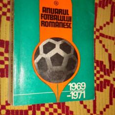 Anuarul fotbalului romanesc an 1969-1971 / 643pagini