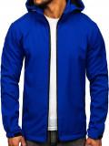 Cumpara ieftin Geacă softshell bărbați albastră Bolf 56008