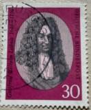 Germania 250 de ani de la moartea lui Gottfried Wilhelm Leibniz, Oameni, Stampilat