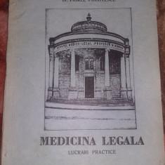 MEDICINA LEGALA-LUCRARI  PRACTICE-1982-DR.VIOREL PANAITESCU,Stare FB,T.GRATUIT