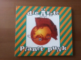 Die arzte planet punk cd disc digipak muzica punk pop hard rock metronome 1995