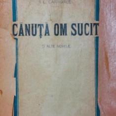 CANUTA OM SUCIT SI ALTE NOVELE - I . L . CARAGIALE