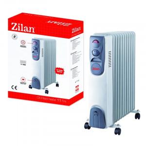 Calorifer electric Zilan, 11 elementi, 2500 W