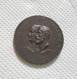 Medalie 1906 Carol I - Expozitia generala romana din Bucuresti