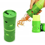 Cumpara ieftin Feliator legume si fructe in forma de spirala,Culoare verde