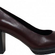 Pantofi dama cu platforma Marco Tozzi 2-2-22419-21 507 bordeaux