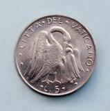 VATICAN - 5 Lire 1971, Europa, Aluminiu