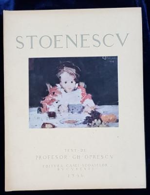 EUSTATIU STOENESCU de GH. OPRESCU - BUCURESTI 1946 foto