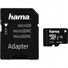 Card Hama microSDXC 64GB