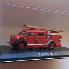 Macheta Volvo B 11 1938 Pompieri - Atlas 1/72