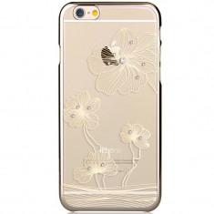 Husa APPLE iPhone 6\6S - Comma Crystal Ballet (Auriu)