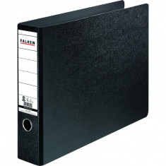 Biblioraft Falken, negru, A3, 75mm, marmorat