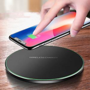 Incarcator Wireless Universal (Culoare ALB)