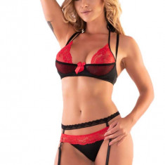 Cumpara ieftin LIV54-115 Set lenjerie sexy cu portajrtier - Livia Corsetti