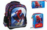 Set scoala Spiderman Home Coming - Ghiozdan, Penar echipat, Penar etui, Disney