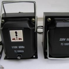 Convertor tensiune 230V 120V, putere 1000W