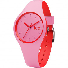 Ceas Unisex ICE Duo pink red, small