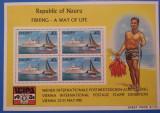 NAURU-Vapoare si pescuit-Colita-mnh, Nestampilat