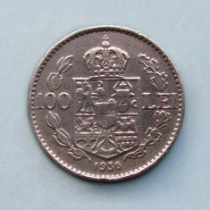 ROMANIA  -  100 Lei 1936