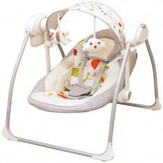 Leagan electric pentru bebelusi BabyMix BY012S-A, Multicolor