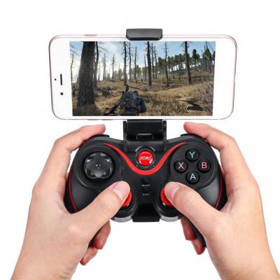 Controller Joystick V8 Bluetooth pentru telefoane tablete iOS, Android,PC foto