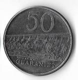 Moneda 50 guaranies 1986 - Paraguay
